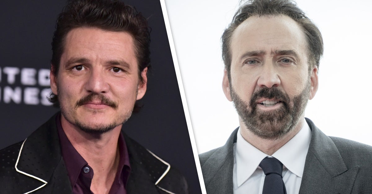 pedro pascal nicolas cage new movie