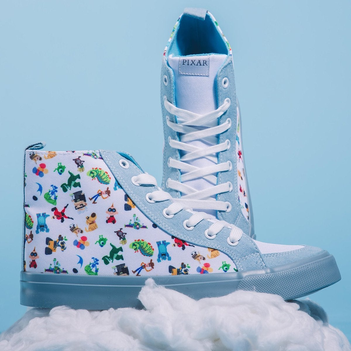 These Disney Pixar Sneakers Are Covered in Characters