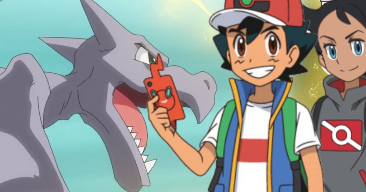 Pokemon Journeys Ash Goh Aerodactyl Anime Tease