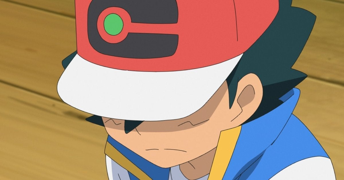 Pokemon Journeys Ash Ketchum Loss