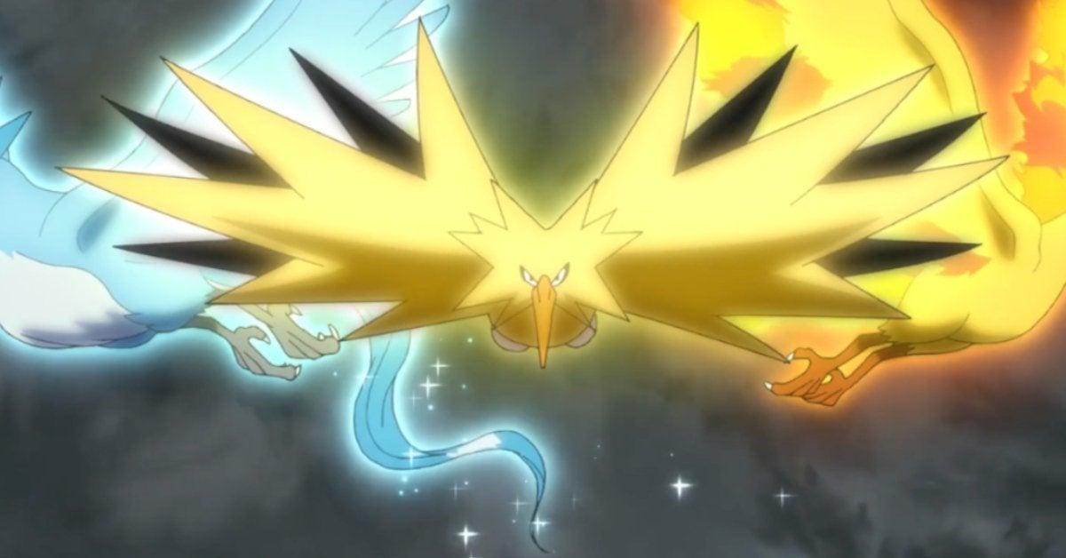 Pokemon Journeys Zapdos Moltres Articuno Anime Return Spoilers