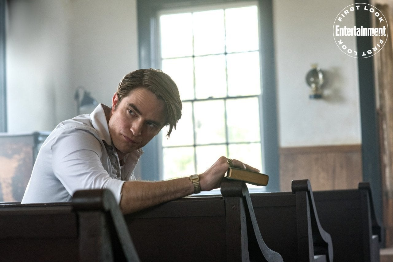 Robert Pattinson In The Devil ALl The Time Movie