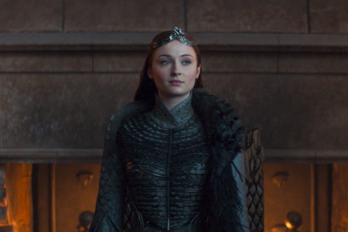 sansa stark throne game of thrones sophie turner