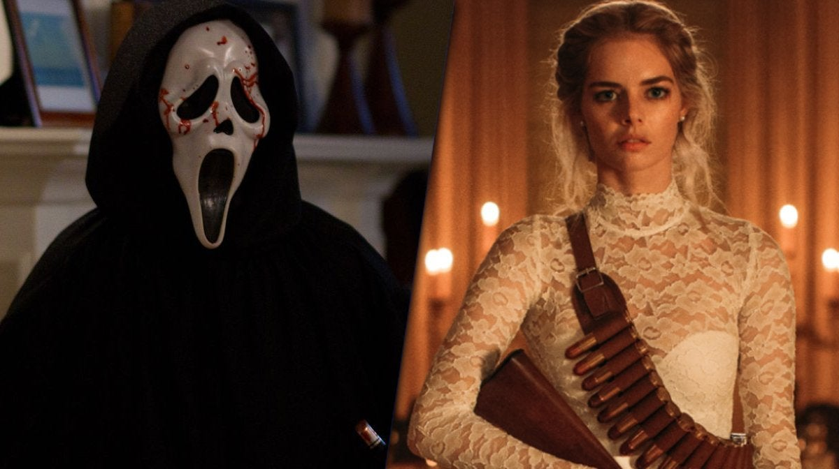scream 5 ghostface samara weaving