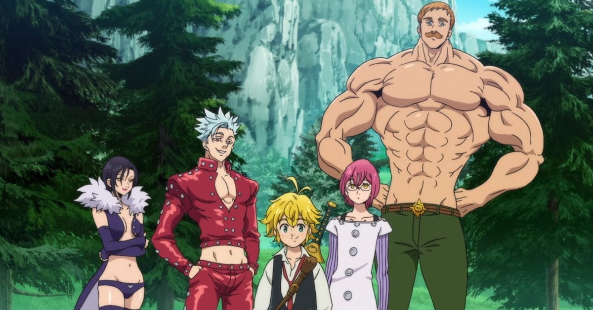 Seven Deadly Sins Wrath of Gods on Netflix