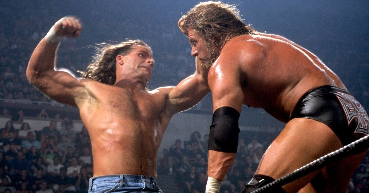 Shawn Michaels Triple H Unsanctioned Match Summerslam 2002