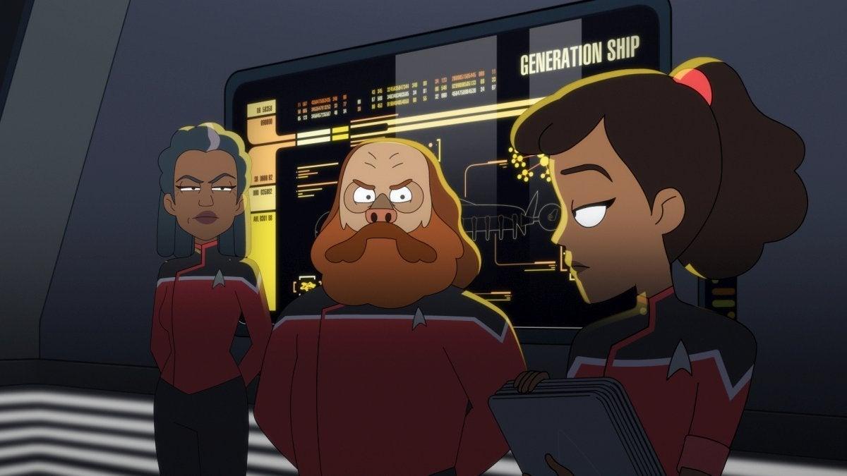 Star Trek Lower Decks Episode 4 Moist Vessel 003