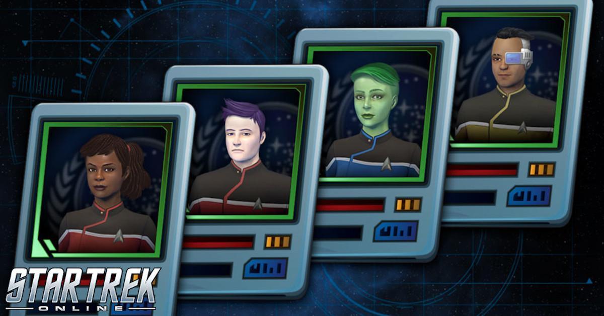 Star Trek Online Lower Decks Duty Officers