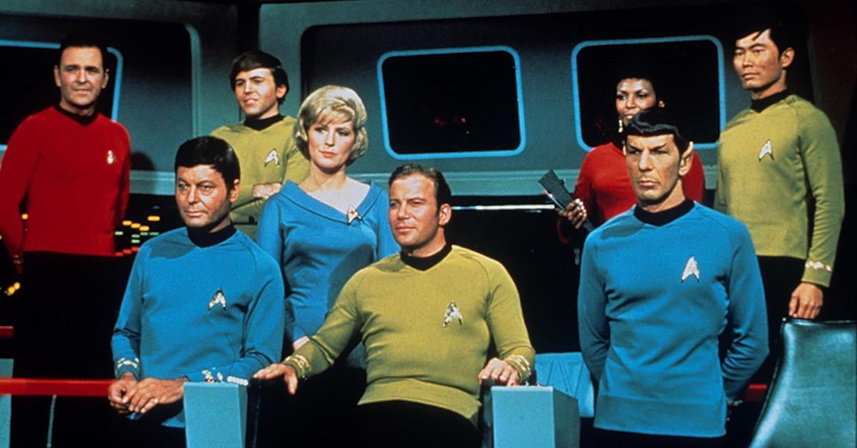 STar Trek the Original Series Cast Tensions