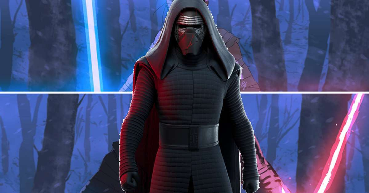 Star Wars Anime Kylo Ren Rey