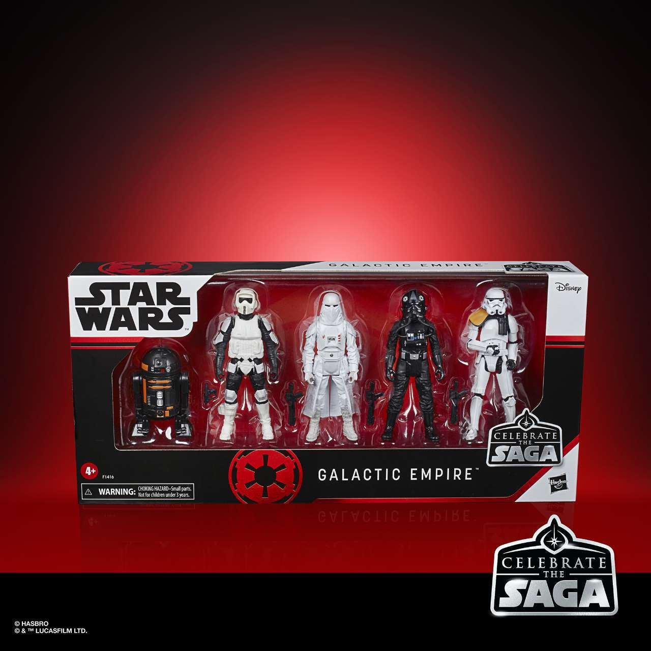 STAR WARS CELEBRATE THE SAGA 375-INCH GALACTIC EMPIRE Figure 5-Pack - in pck