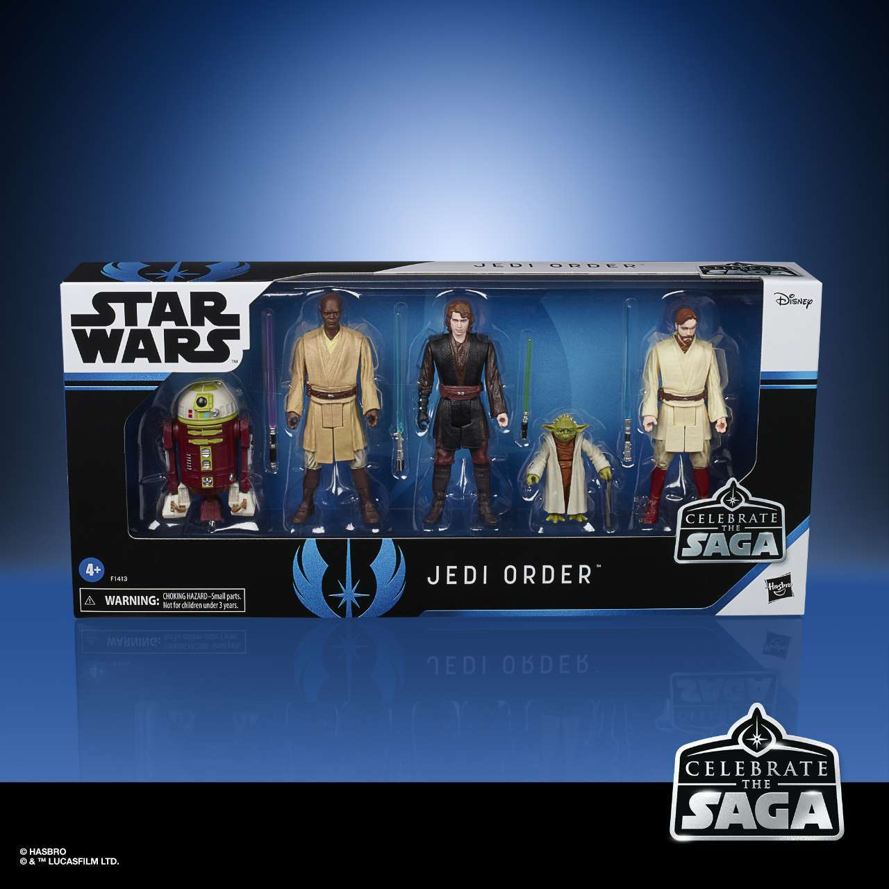 STAR WARS CELEBRATE THE SAGA 3.75-INCH JEDI ORDER Figure 5-Pack - in pck