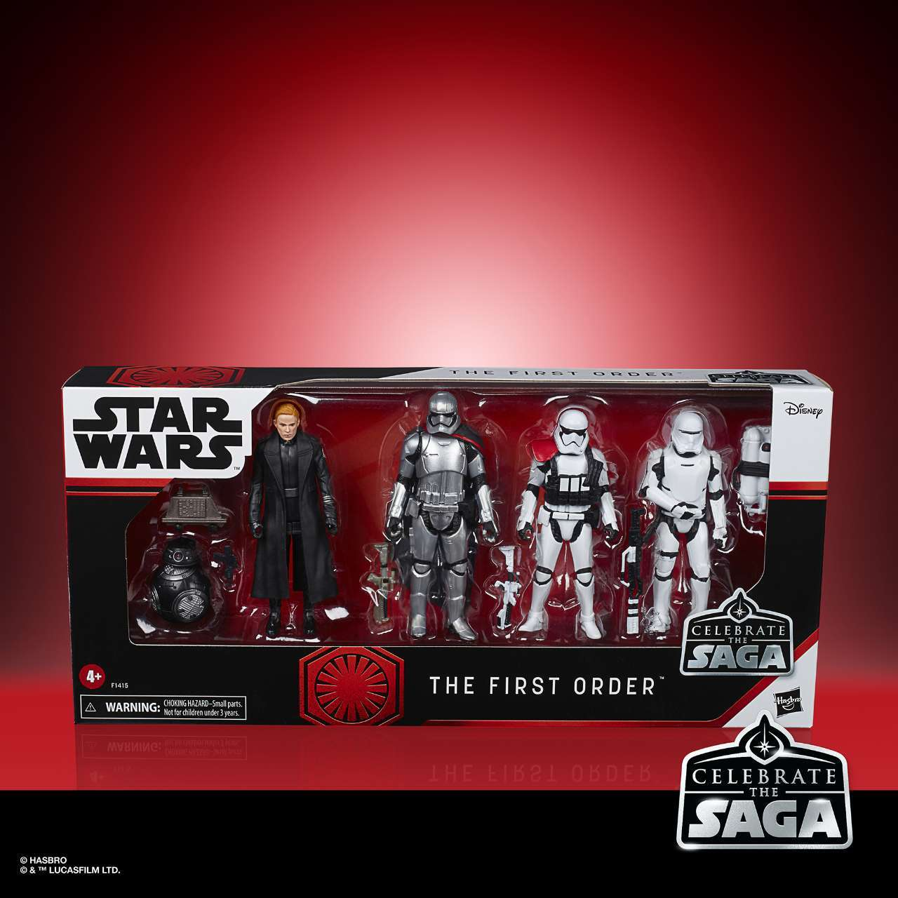 STAR WARS CELEBRATE THE SAGA 375-INCH THE FIRST ORDER Figure 6-Pack - in pck