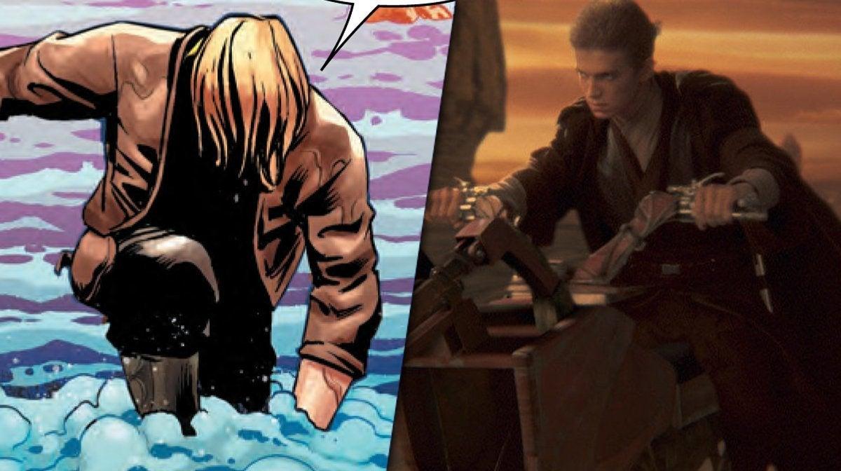 star wars comic luke anakin sand skywalker