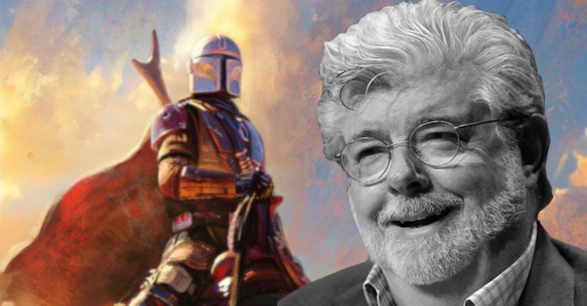 Star Wars Mandalorian George Lucas Reaction Dave Filoni