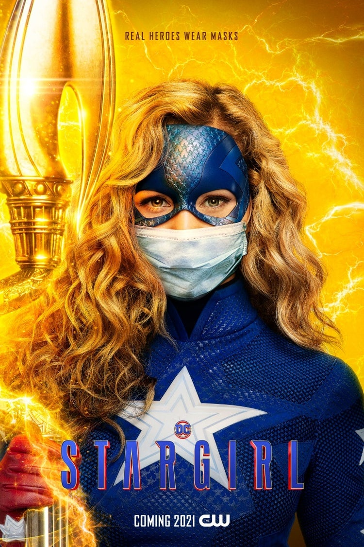 stargirl face mask poster