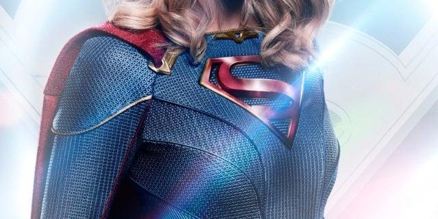supergirl face mask poster