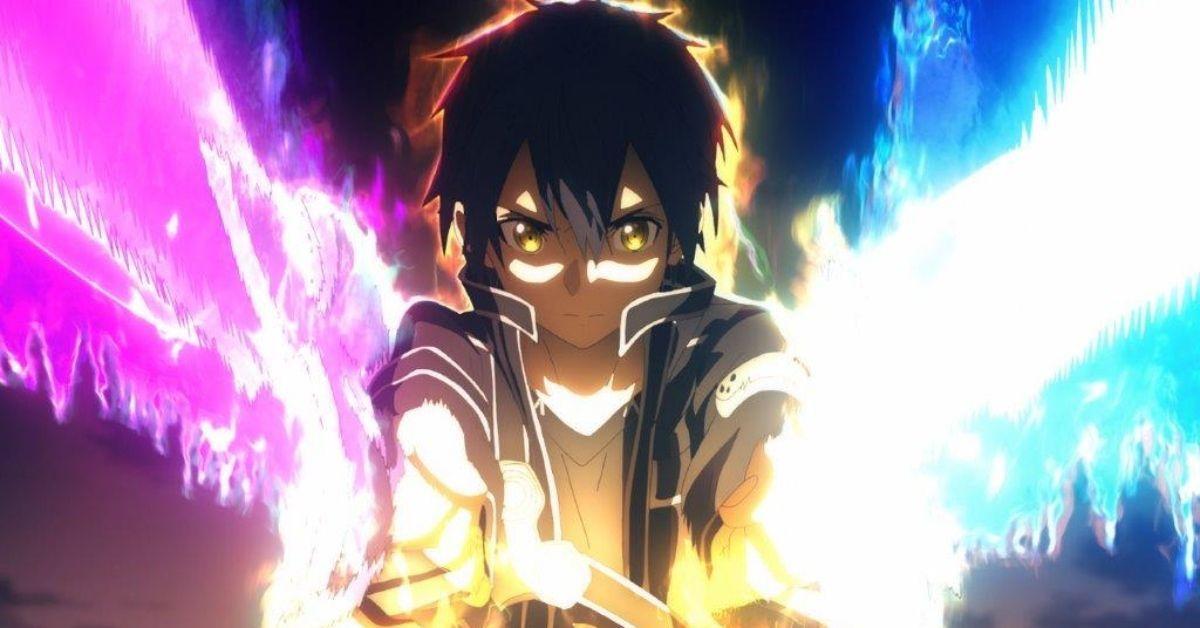 Sword Art Online Alicization Kirito Starburst Stream Scene War of Underworld