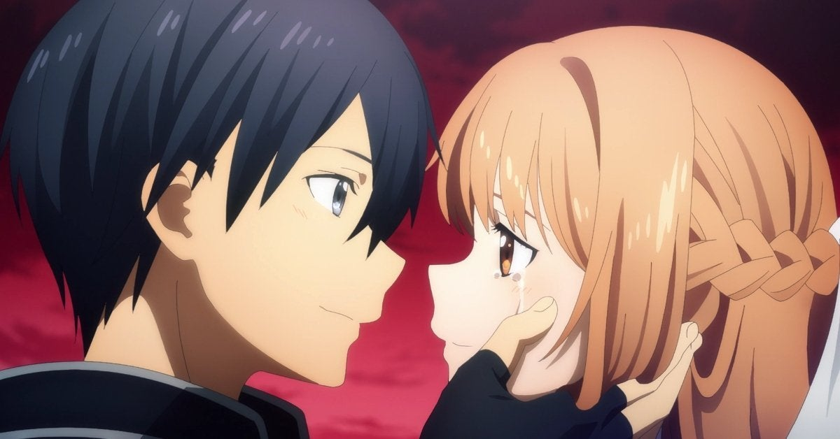 Sword Art Online Alicization War of Underworld Kirito Asuna Reunion