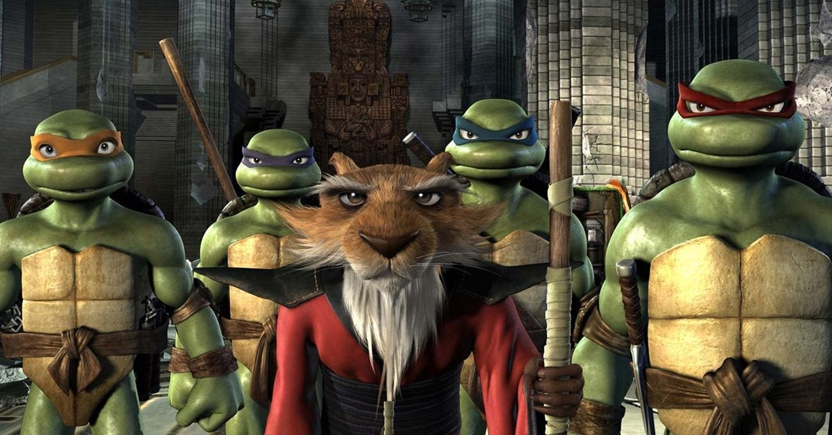 teenage mutant ninja turtles tmnt 2007