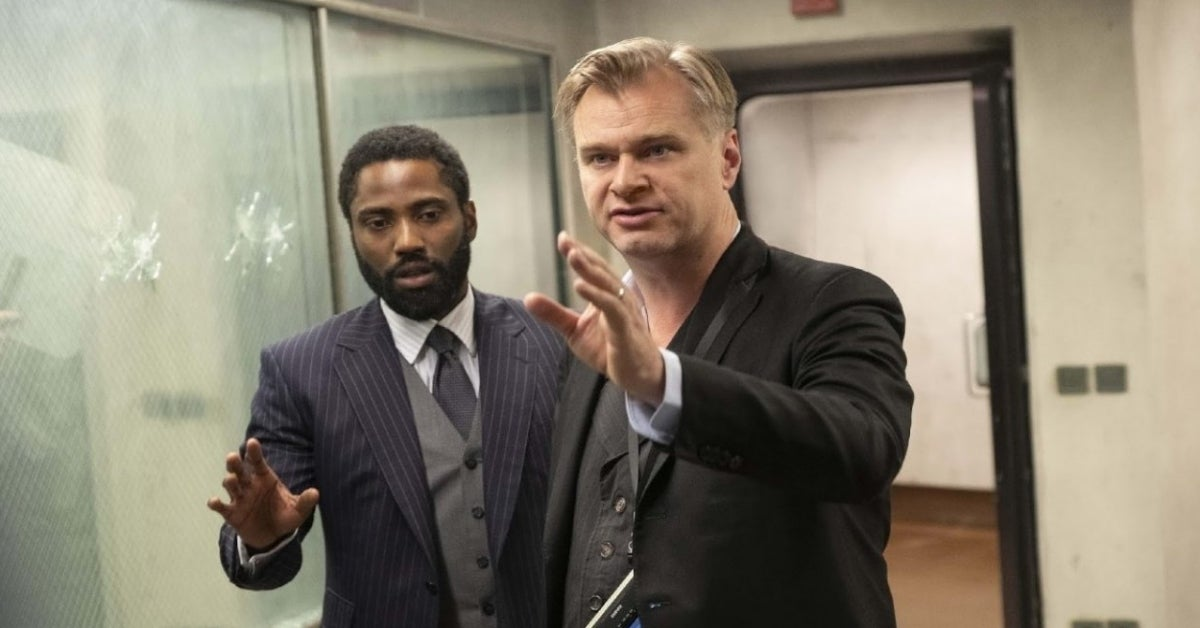 Tenet Christopher Nolan John David Washington