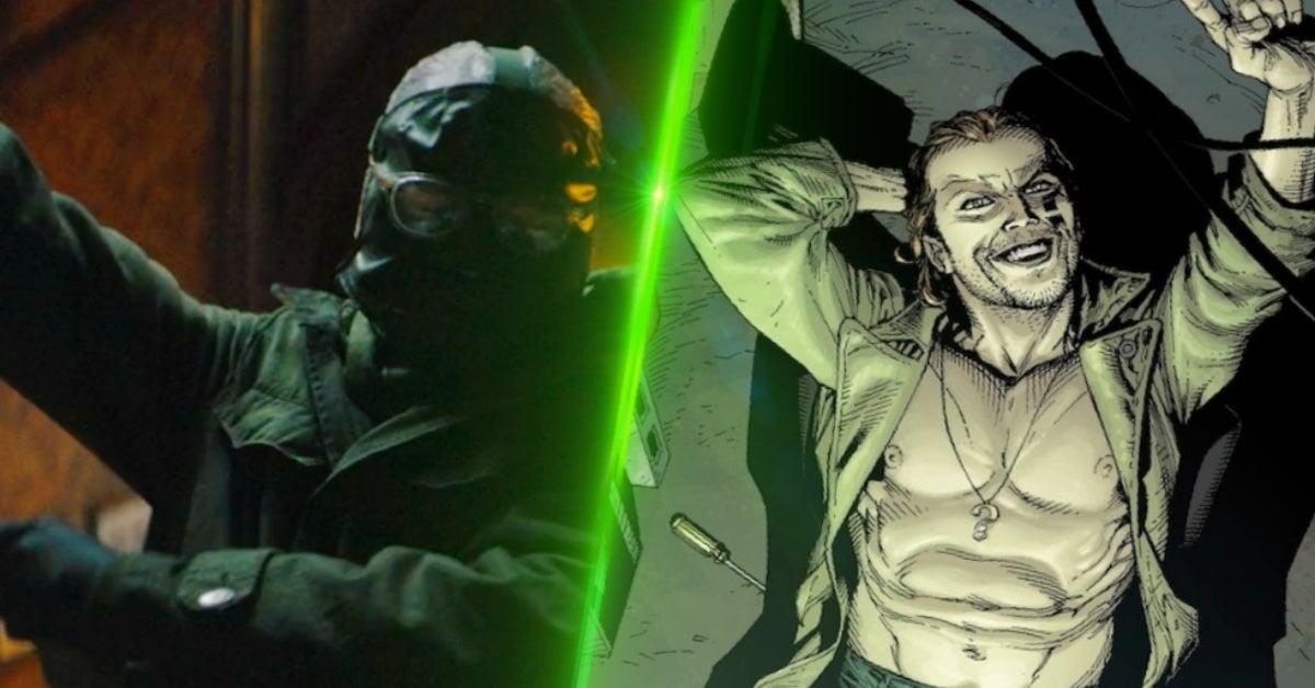 The Batman Riddler Paul Dano Earth One COMICBOOKCOM