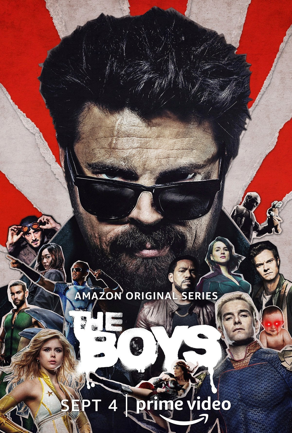 The Boys Season 2 Poster - Butcher (Clean)