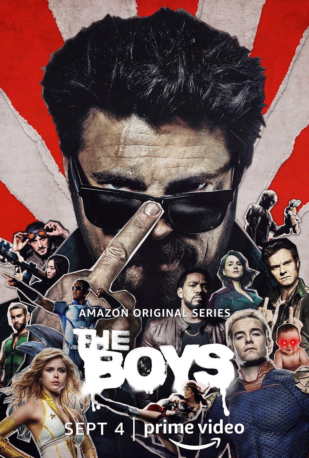 The Boys Season 2 Poster - Butcher (Karl Urban)