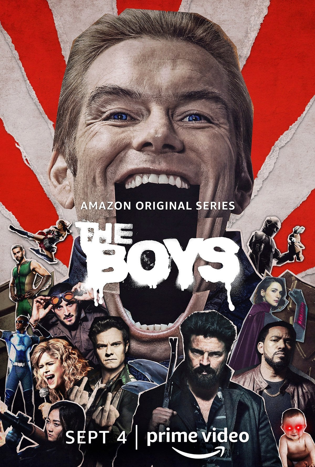 The Boys Season 2 Poster - Homelander (Antony Starr)
