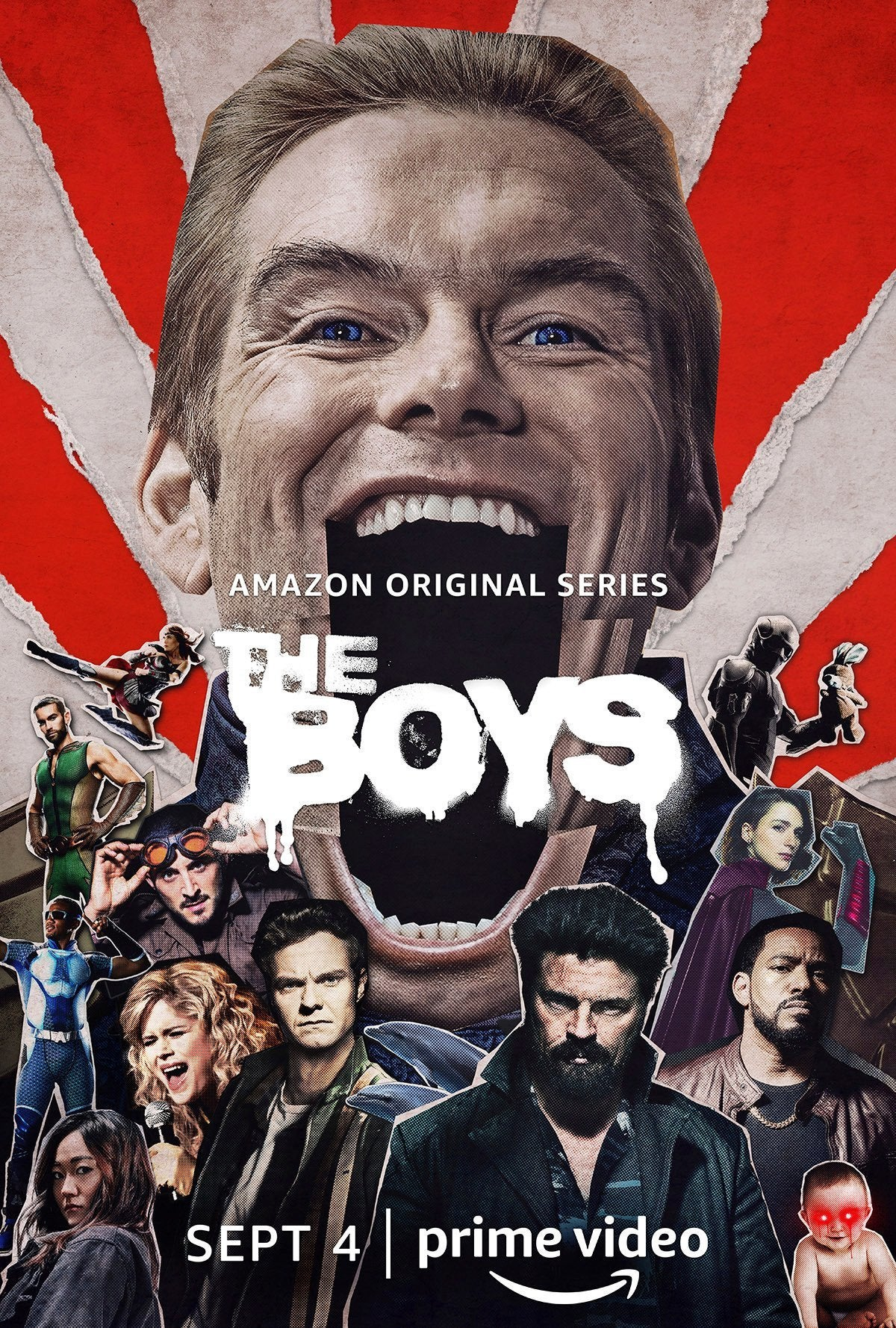 The Boys Season 2 Poster - Homelander (Clean)