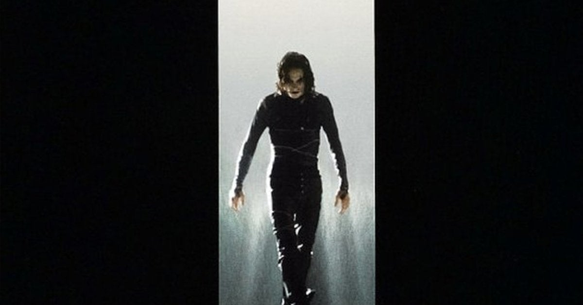 the crow movie poster brandon lee 1994
