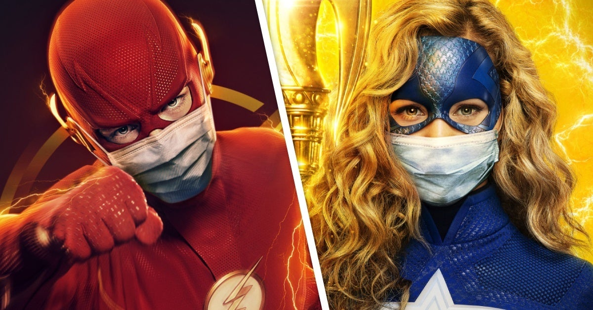 the cw face mask posters