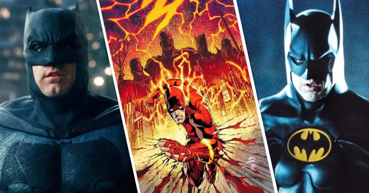 The Flash Movie Ben Affleck Batman Michael Keaton Return Explained Flashpoibnt