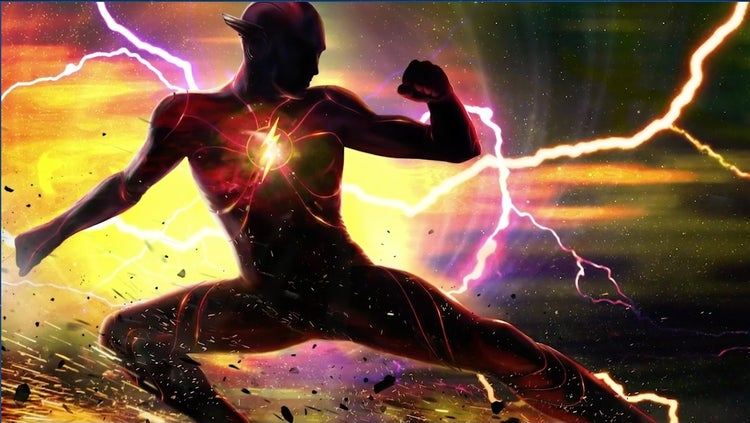 the flash movie concept art dc fandome