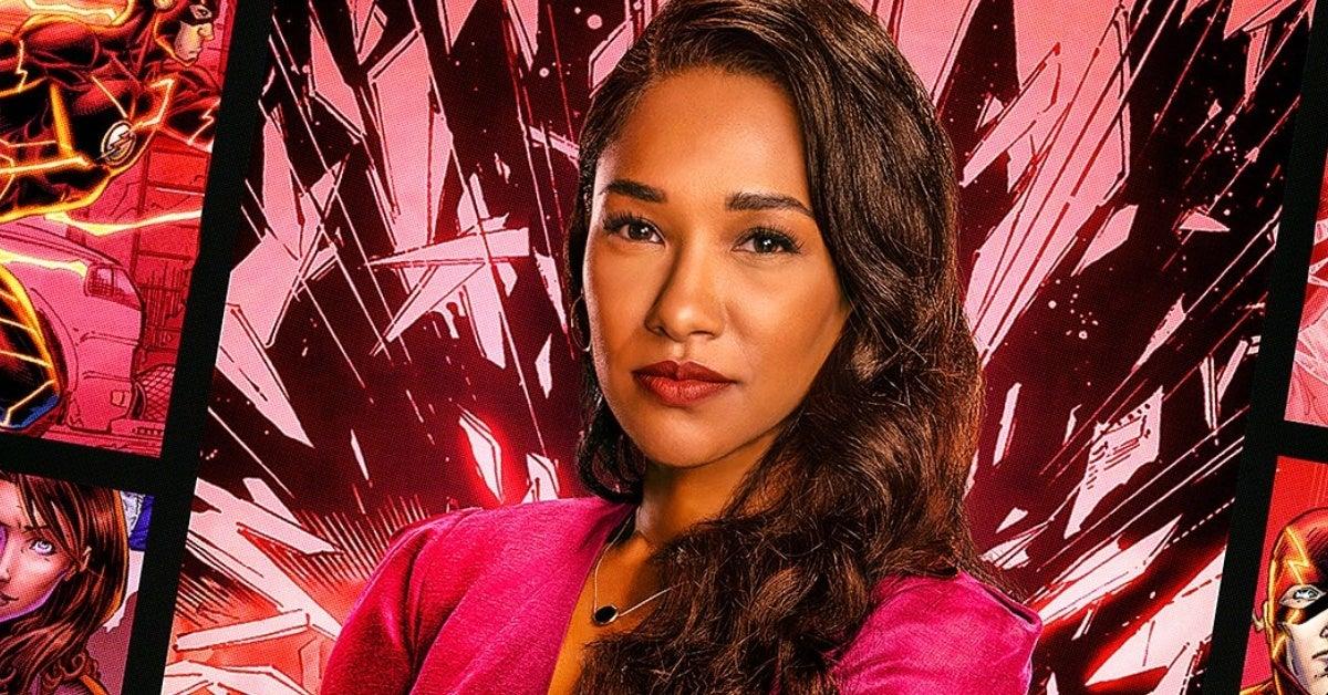 the flash season 7 iris