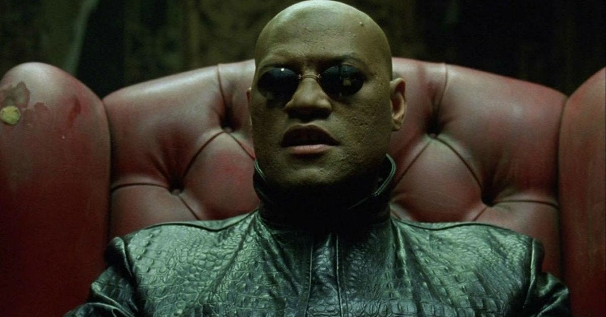 The Matrix 4 Morpheus Laurence FIshburne
