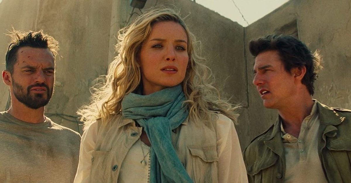 the mummy annabelle wallis tom cruise jake johnson