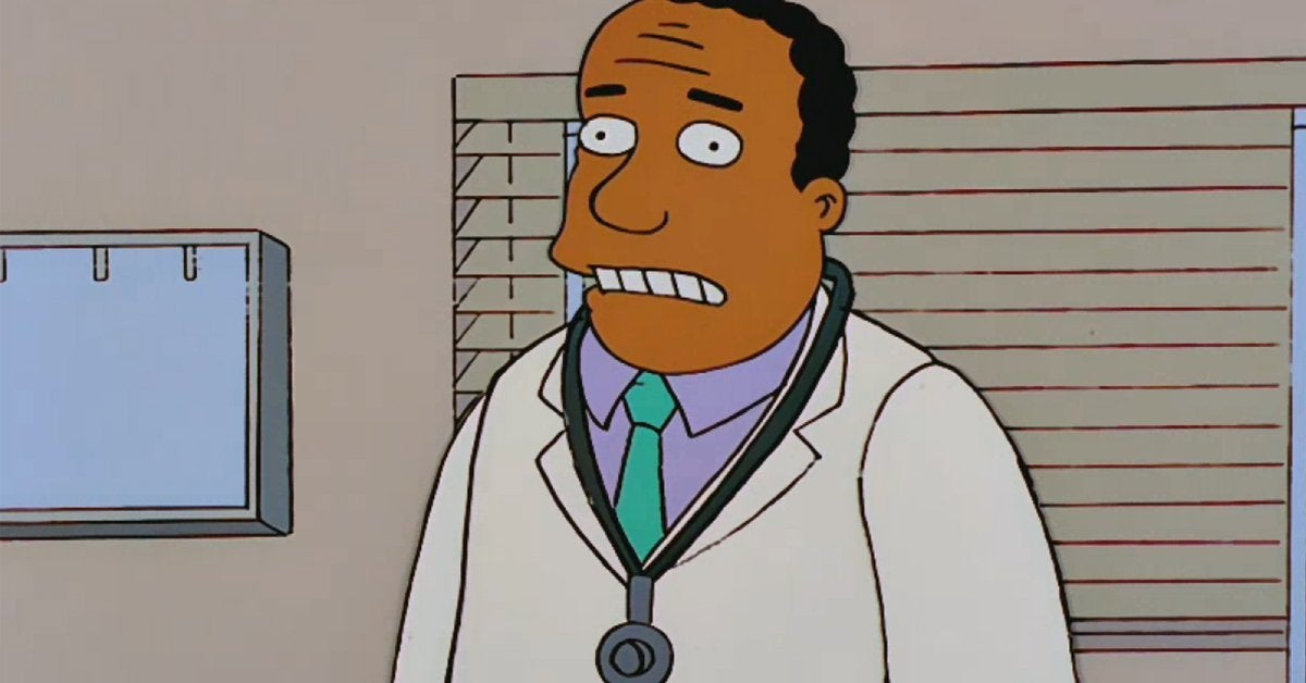 the simpsons dr julius hibbert harry shearer