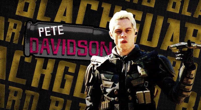 the suicide squad blackguard pete davidson