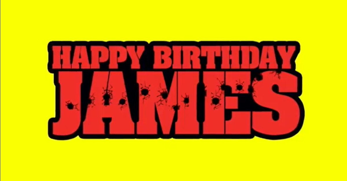 The Suicide Squad Cast James Gunn Birthday
