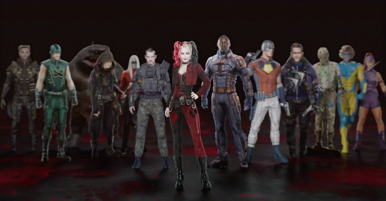the suicide squad concept art cast