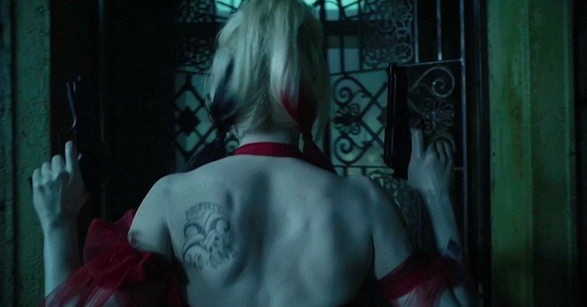 Harley Quinn Has a New Tattoo in DC FanDome Footage