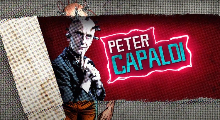 the suicide squad the thinker peter capaldi