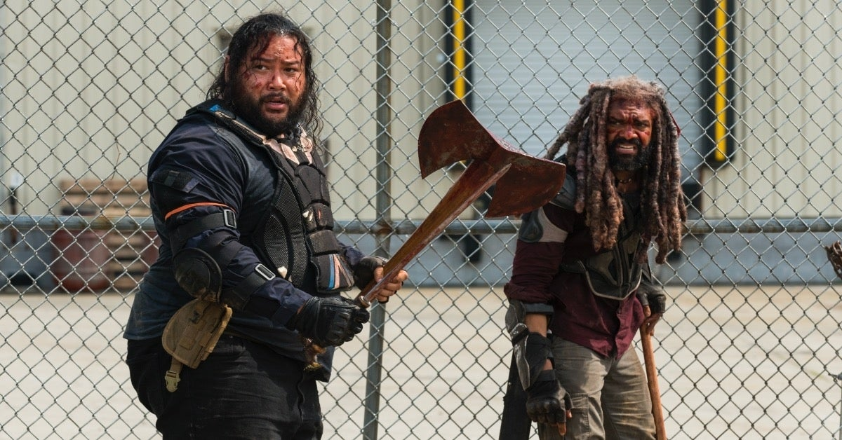 The Walking Dead Jerry Cooper Andrews King Ezekiel Khary Payton