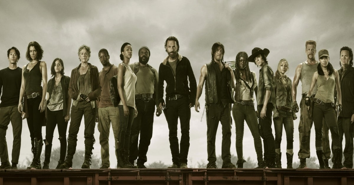 The Walking Dead past characters