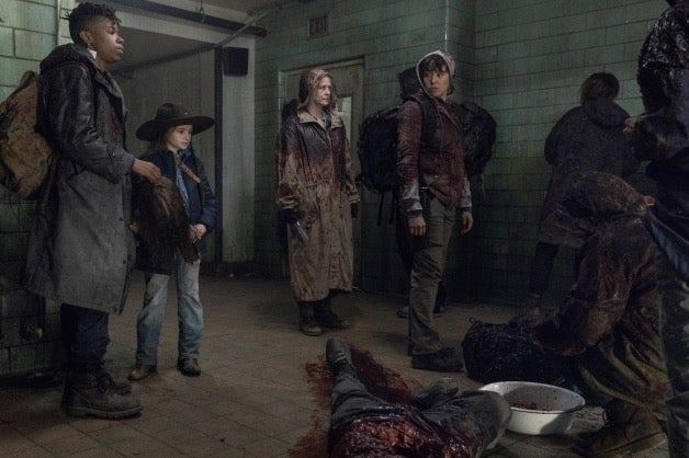 The Walking Dead Season 10 Finale Group