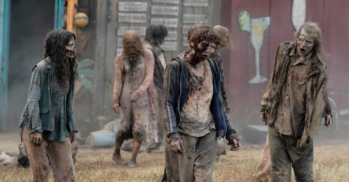 The Walking Dead World Beyond zombies empties