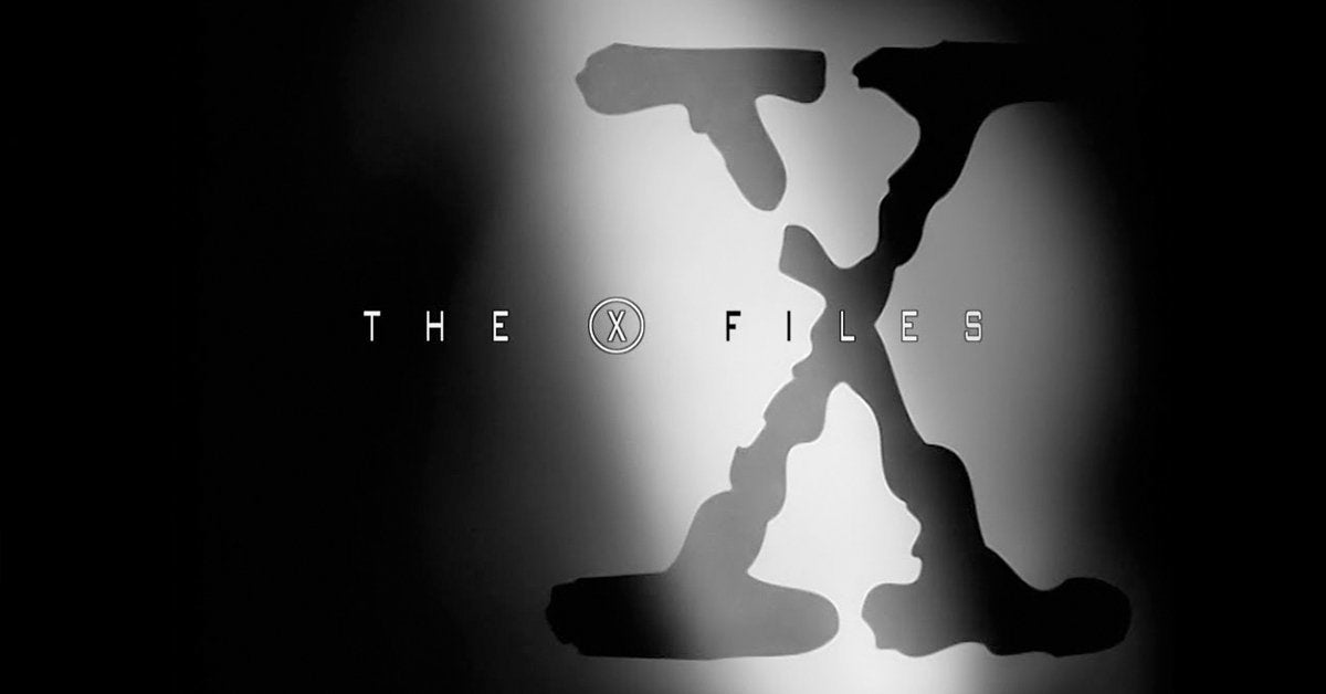 the x files opening logo theme