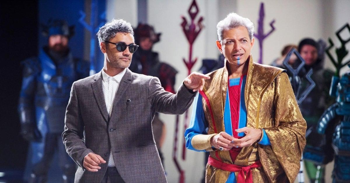 Thor Ragnarok Jeff Goldblum Taika Waititi