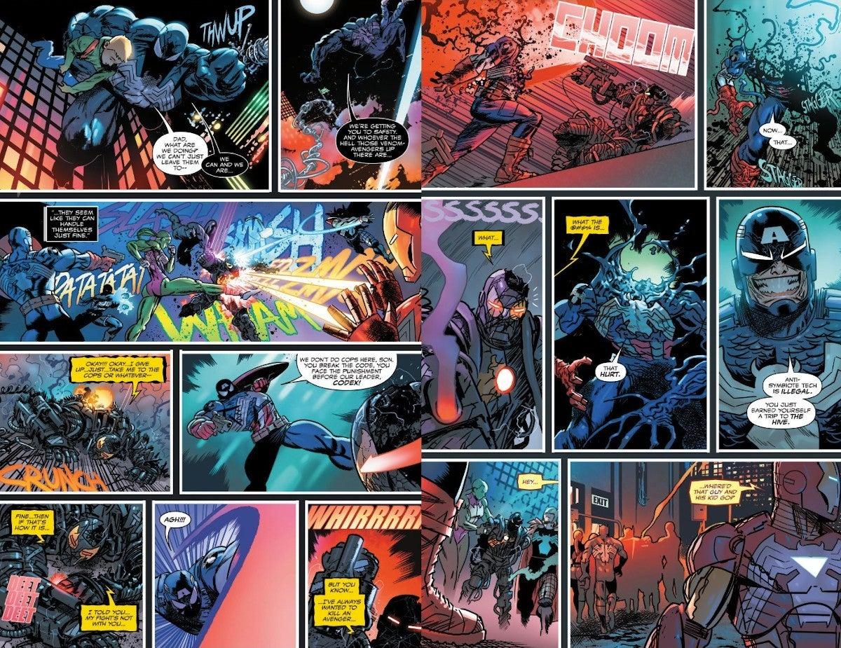 Marvel revela os vingadores simbiontes 1